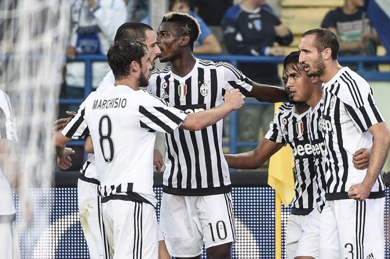 Juventus turun dengan skuad terbaik. (Foto: AFP/Andreas Solaro)