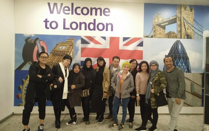 Tiba di Bandara Heathrow, Tim Indonesian Weekend Siap Menggebrak London