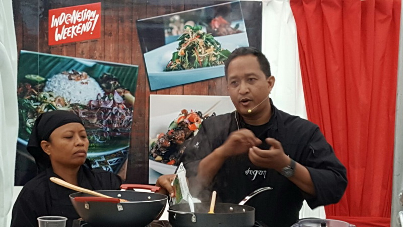 Warga London Penasaran Kuliner Nusantara, Chef Degan: Kunjungi Indonesia!