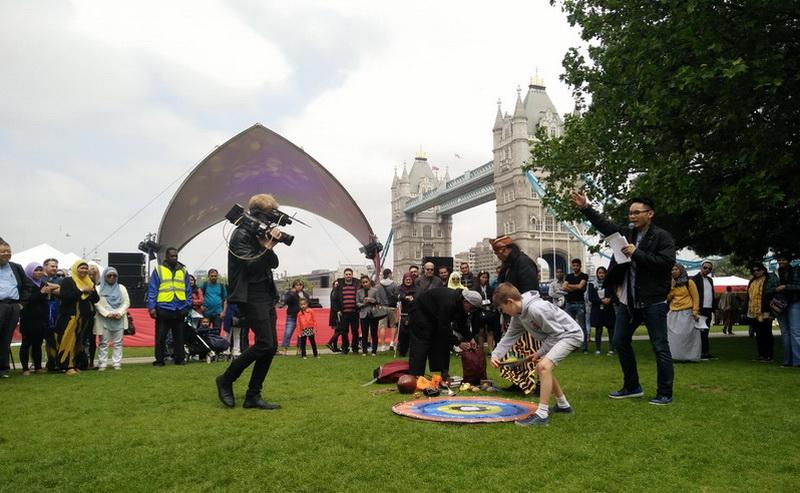 Di London, Ben Kasyafani Bertemu Banyak Orang Hebat