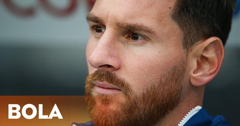 Diberitakan Pensiun, Romero: Messi Hanya Emosi
