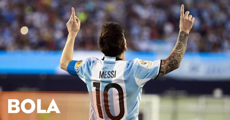 Messi Pemain Besar, tapi Tanpa Gelar untuk Argentina