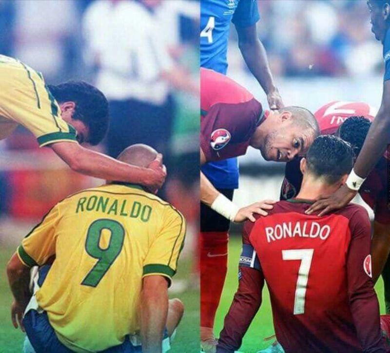 Dua Ronaldo.
