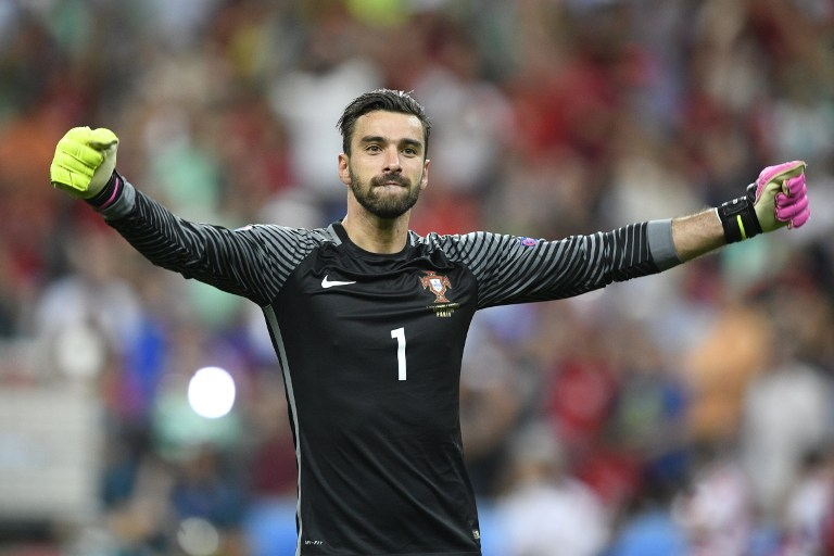 Rui Patricio man of the match final Piala Eropa 2016. (foto:AFP)
