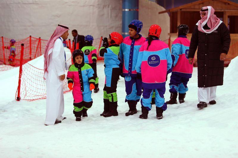 Kini di Arab Saudi Ada Salju