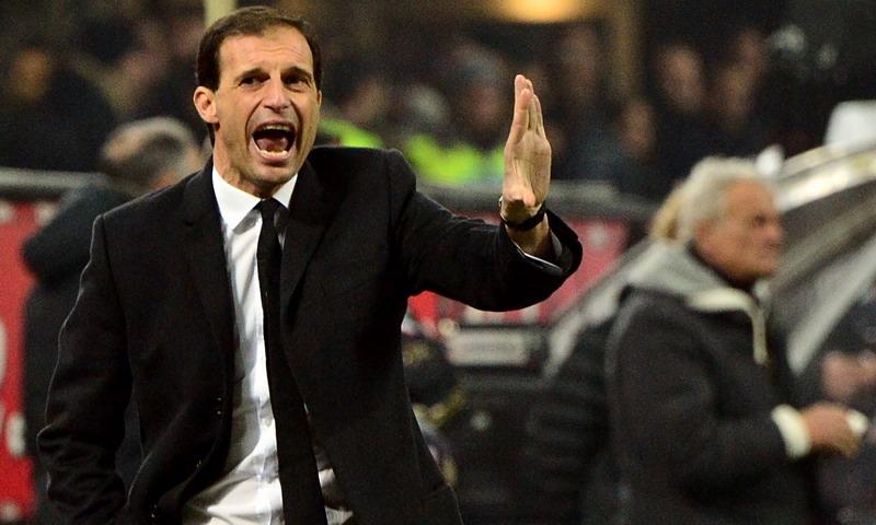 Allegri memberi prediksi soal Liga Champions 2016-2017. (Foto: AFP/Giuseppe Cacace)
