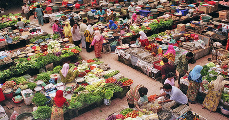 Image result for pasar tradisional