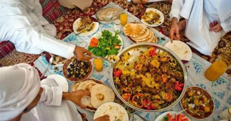Ini Tradisi Bersantap Masyarakat Arab saat Idul Adha