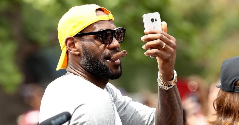 LeBron James / Getty