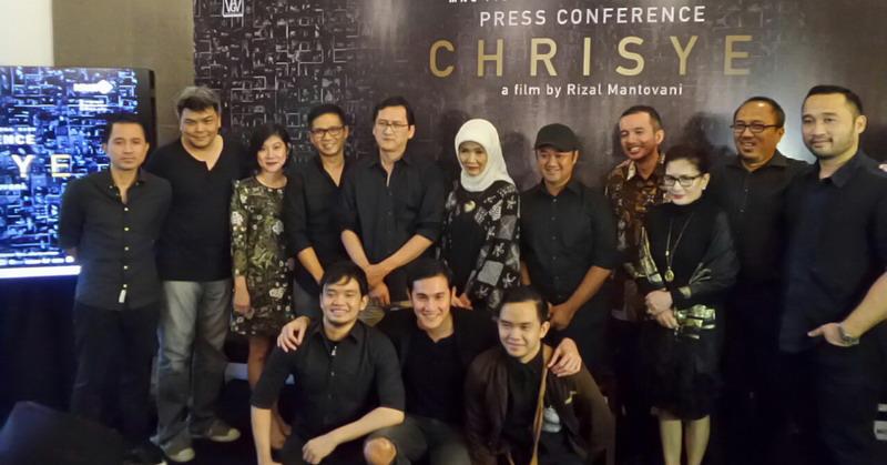 Konferensi Pers Film Chrisye (Foto: Ray/Okezone)