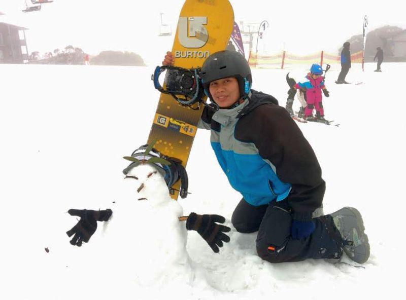 Merasakan Salju di Mount Buller Australia, Asyik Abis!