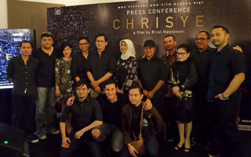 Kru film Chrisye (Foto: Raynaldi/Okezone)