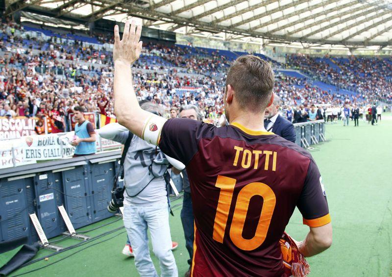 Francesco Totti (Foto: Reuters/Tony Gentile)