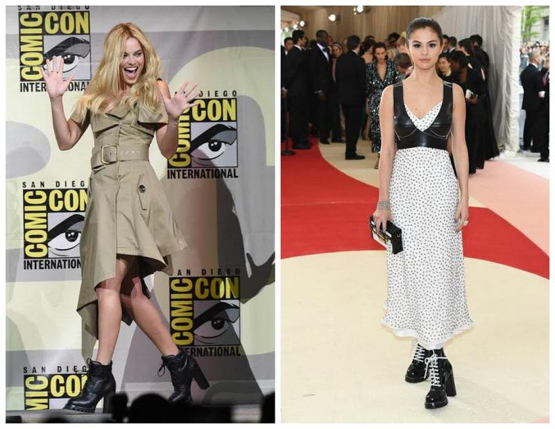 Margot Robbie Ingin Sontek Sepatu Selena Gomez?
