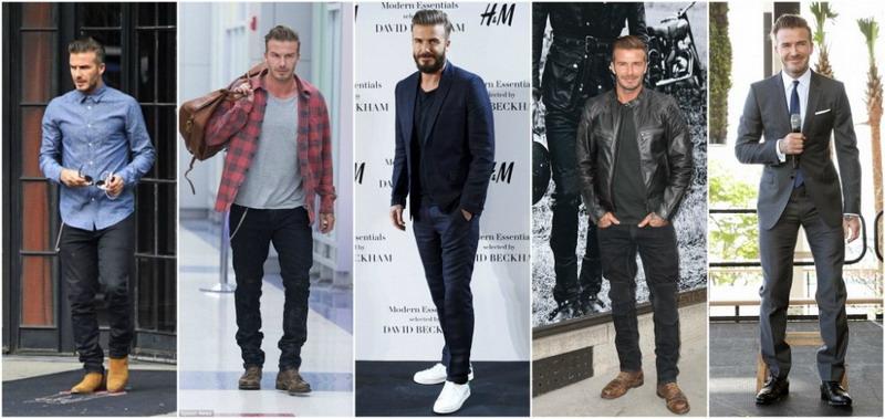 Yuk Ikuti Gaya Busana David Beckham