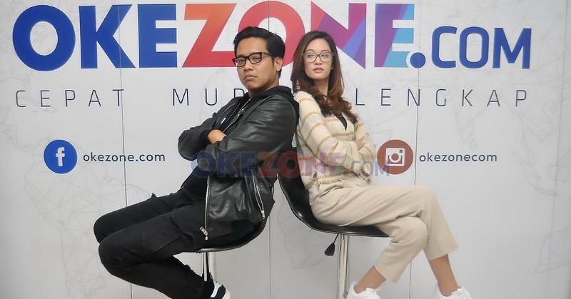 Gofar Hilman dan Faradilla Yoshi (Foto: Sabki/Okezone)
