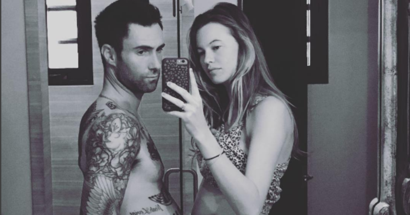 Adam Levine dan Behati Prinsloo (Foto: Instagram/AdamLevine)