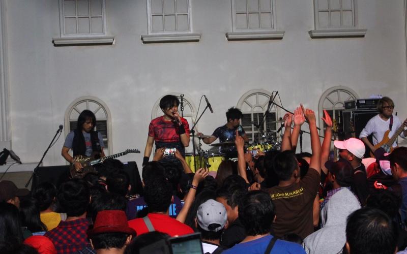 Gigi Band (Foto: Raynaldi/Okezone)