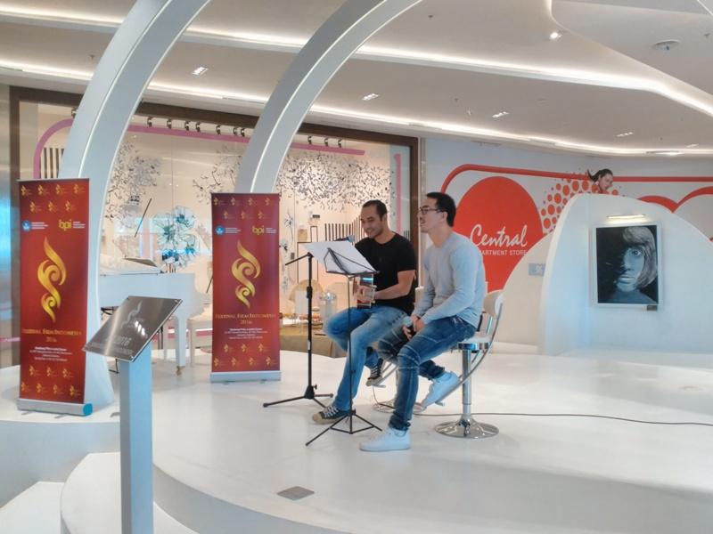 Ario Bayu dan Joe Taslim (Foto: Ady/Okezone)