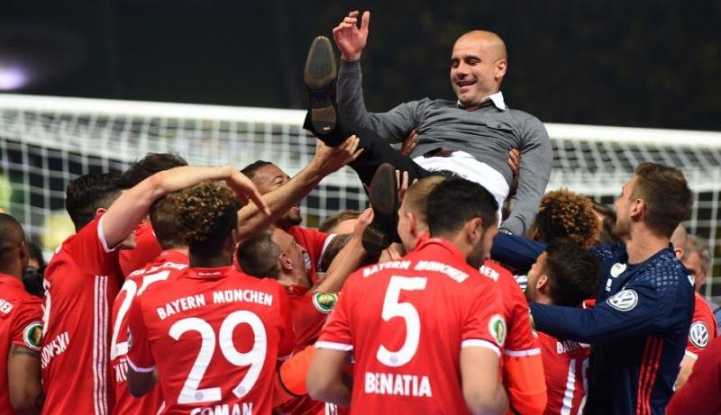 Pep Guardiola saat di Bayern (Foto: AFP)