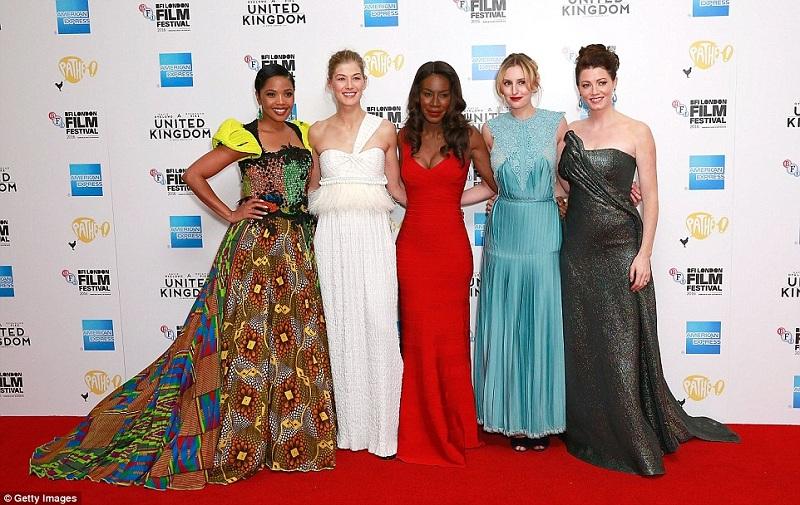Red Carpet di Ajang BFI London Film Festival. (Foto: Dailymail)