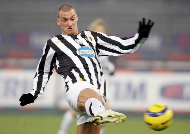 Ibrahimovic kurang tajam saat bela Juventus. (Foto: AFP/Paco Serinelli)
