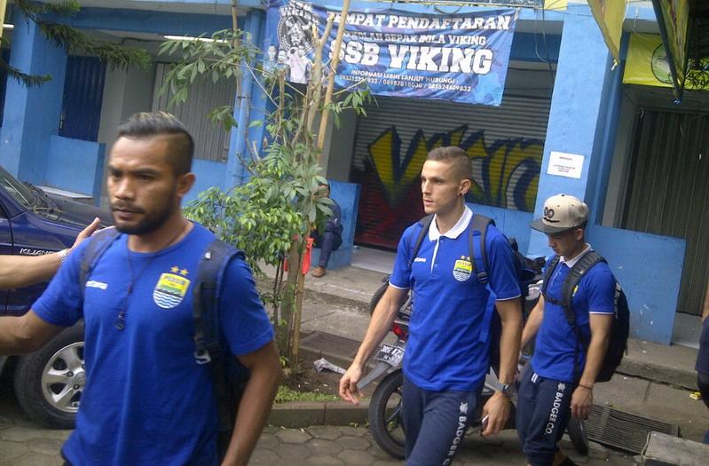 Persib Bandung (Foto: Oris Ridwan/Okezone)