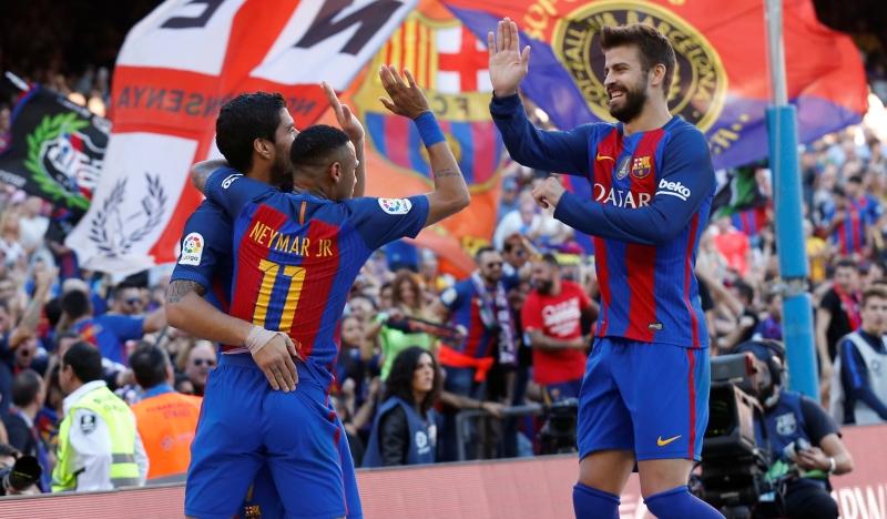 Barcelona menang mudah atas Deportivo (Foto: Reuters)
