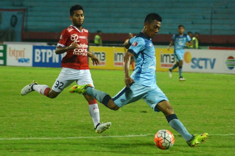 Mental Persela mulai membaik usai kalahkan Bali United. (Foto: ANTARA/Umarul Faruq)