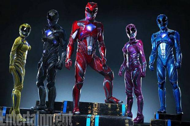 Power Rangers (Foto: Entertainment Weekly)