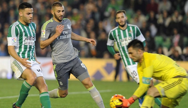Real Betis vs Real Madrid (Foto: AFP)
