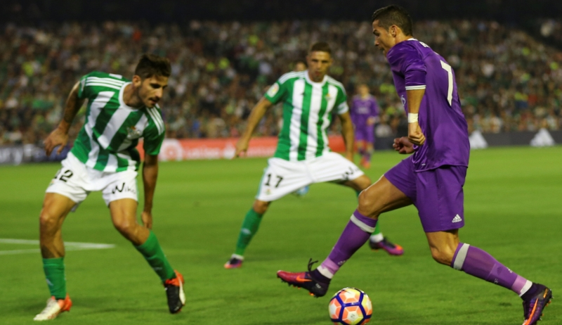 Real Betis vs Real Madrid (Foto: Reuters)