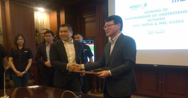 \MNC Group Gandeng Stasiun TV Terbesar di Korea\