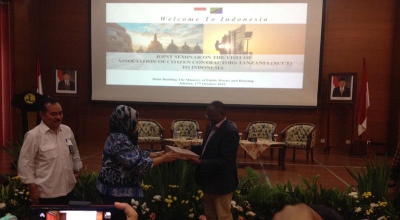 \Indonesia Buka Peluang Garap Pasar Konstruksi di Tanzania\