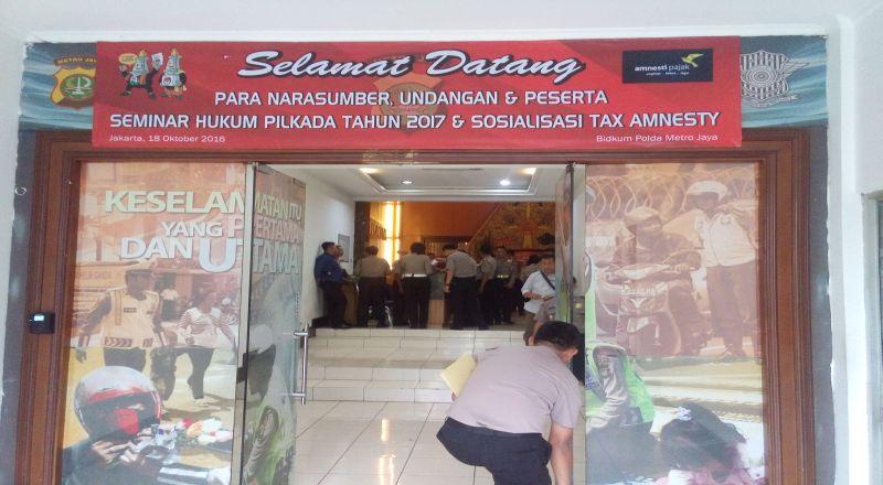 \Polda Metro Jaya Jadi Bidikan Sosialisasi Pajak\