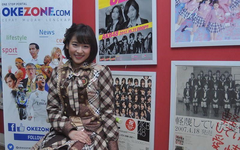 Haruka (Foto: Sabki/Okezone)