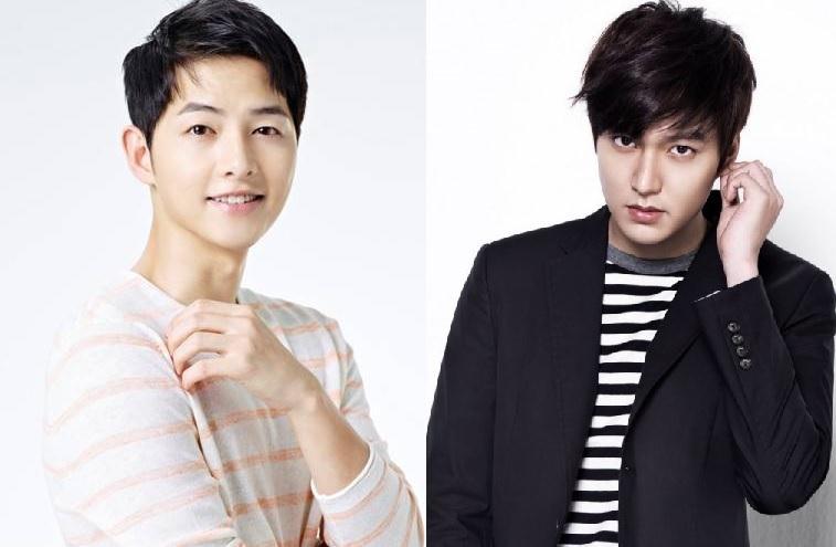 Song Joong Ki dan Lee Min Ho (Foto: Allkpop)