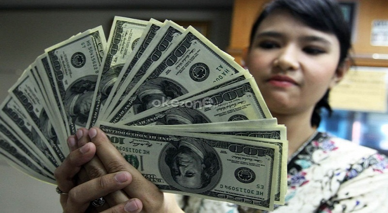 \Dolar AS Melemah Tertekan Pernyataan The Fed\