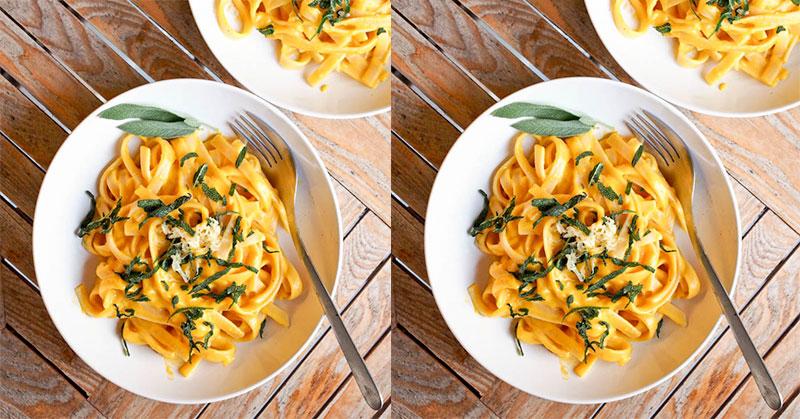 DIET MAYO DAY 2: Makan Siang Enaknya dengan Pasta with Pumpkin Sauce