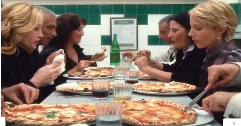 Merasakan Sensasi Pizza 'Eat, Pray, Love'
