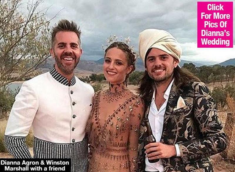 Intip Gaun Pengantin Bergaya Maroko, Bintang Serial Glee Ini