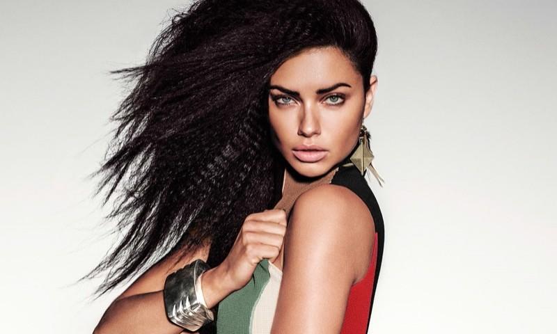Rahasia Murah Rambut Bercahaya Supermodel Adriana Lima