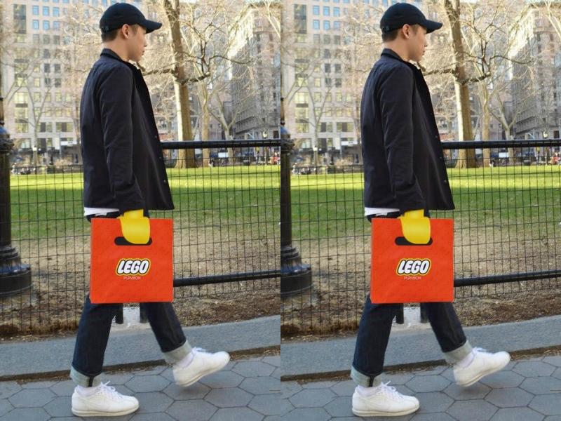 Tas Ajaib Ini Tampilkan Ilusi Tangan Lego!