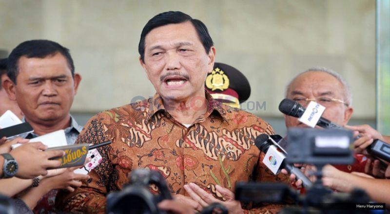 \2 Tahun Jokowi-JK, Menko Luhut: Stabilitas Politik, Keamanan, Ekonomi Bagus!\