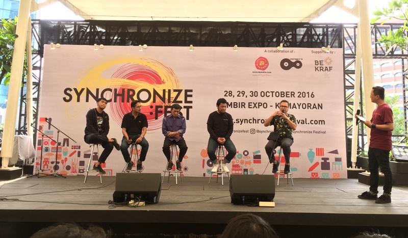 Synchronize Fast (Foto: Ady/Okezone)
