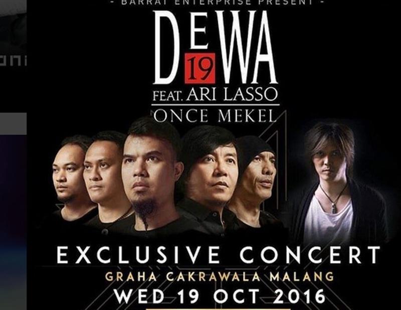 Konser Dewa (Foto: Instagram)