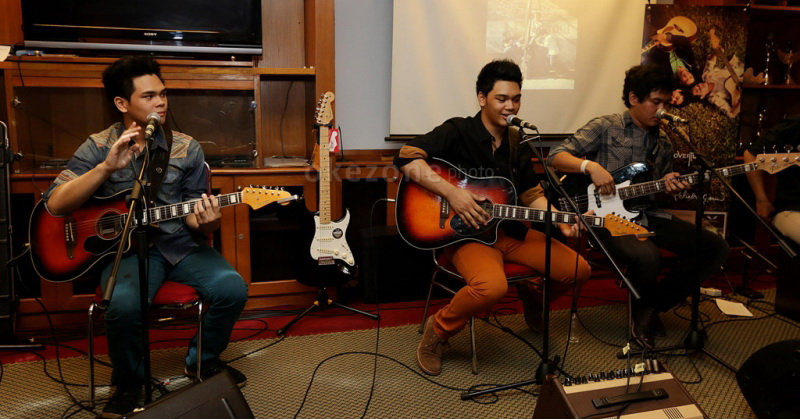 The Overtunes (Foto: Arif/Okezone)