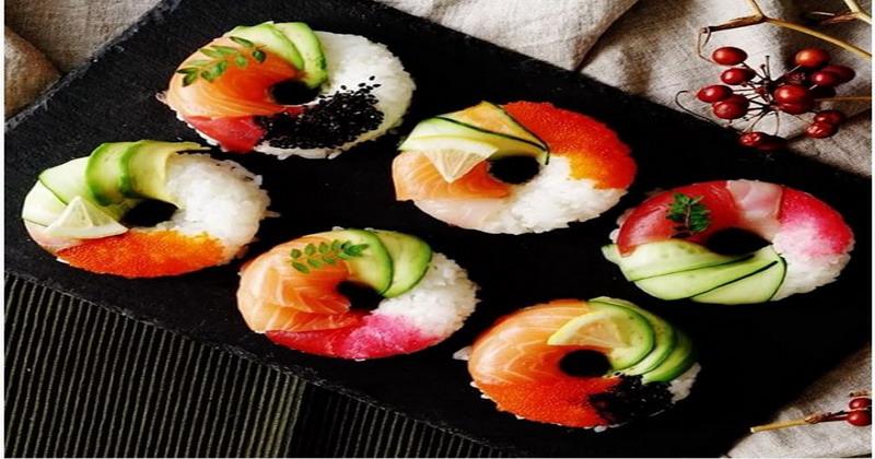 Sttt.... Ini Bocoran Bikin Donat Sushi yang Jadi Tren