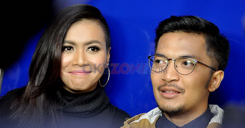 Denada dan Ihsan (Foto: Sabki/Okezone)