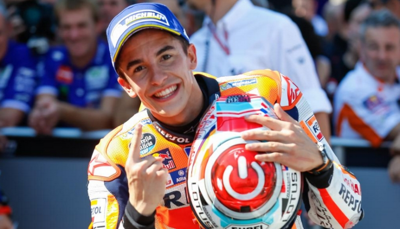 Marc Marquez (Foto: Situs resmi MotoGP)